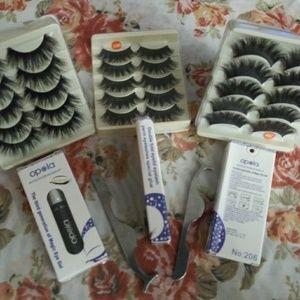 Other - 3 Pc Eyelashes Bundle/set